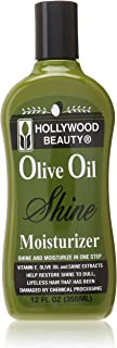 Hollywood Beauty Olive Oil Moist and Shine Moisturizing Hair Lotion, 12 Ounce