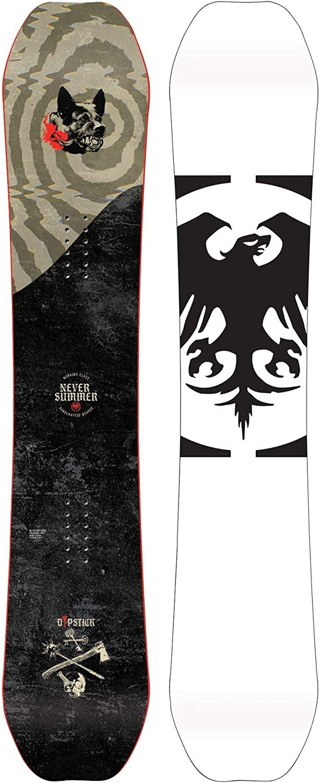 Never Summer Dipstick X Wide Snowboard