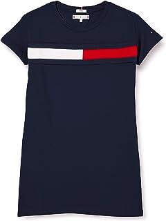 Tommy Hilfiger Flag Jersey Dress S/S Vestido para Niñas