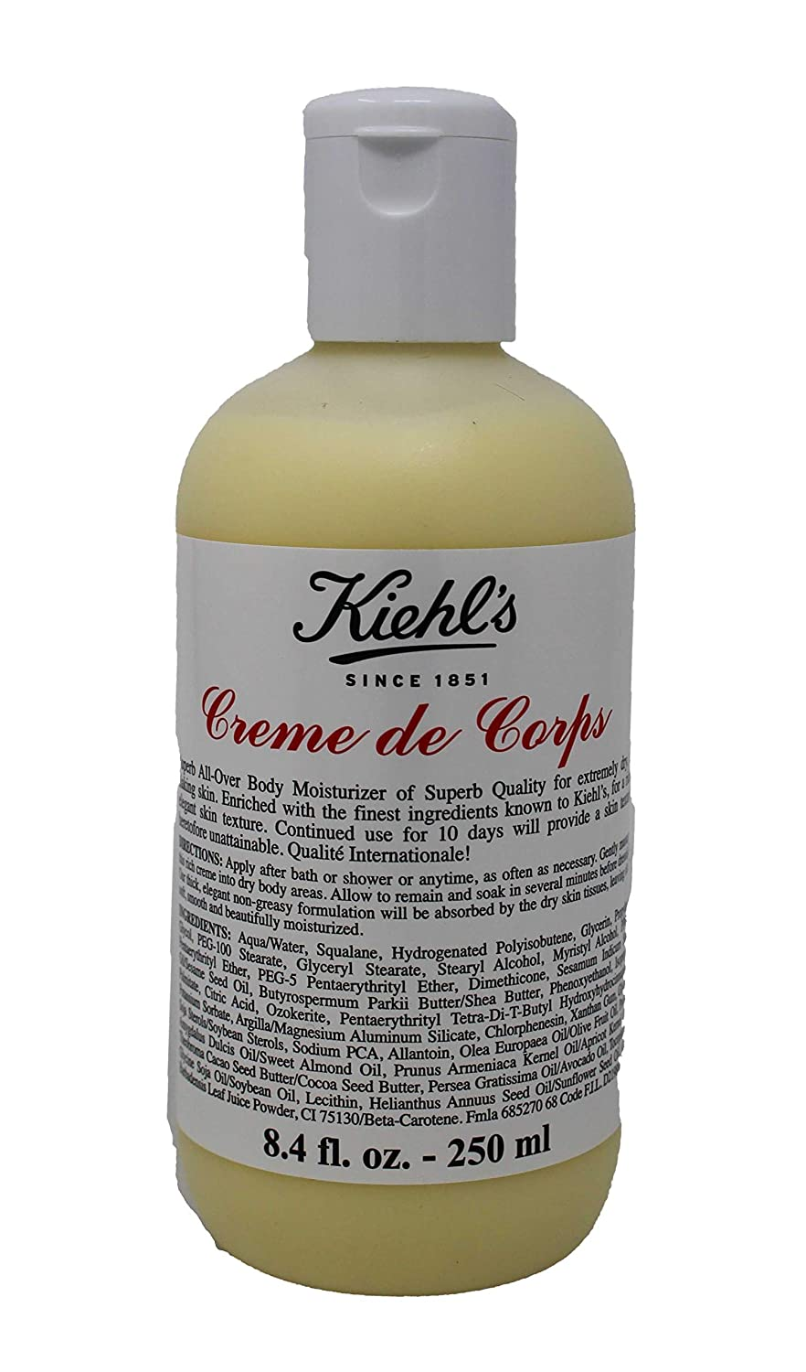 Kiehl's Body Shipping included Care - Creme 8.4oz 250ml De Corps New Free Shipping Moisturizer