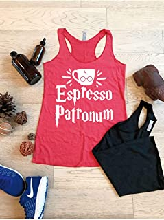 Espresso Patronum/True To Women's Fit/Women's Eco Tri-Blend Tanks//Universal Trip Shirt/Harry Potter Clothing/Triblend Tank/Free Shipping//