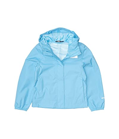 The North Face Kids Resolve Rain Jacket (Little Kids/Big Kids) (Ethereal Blue) Girl