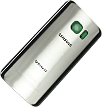 OEM Samsung Galaxy S7 G930 Back Glass Cover Battery Door Replacement USA (Silver)