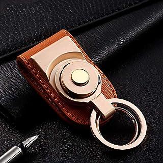 Keychain Key Chain Men Waist Key Ring Pendant Lightweight Portable Key Pendant Auto Accessories YJXUSHYQ (Color : Gold wit...