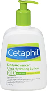 Cetaphil Daily Advance Ultra Hydrating Lotion For Dry, Sensitive Skin, 473 ml