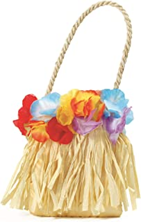 Bristol Novelty Hawaiian Flower Handbag
