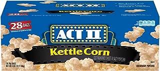 ACT Ii Kettle Corn Microwave Bags - 28/3oz
