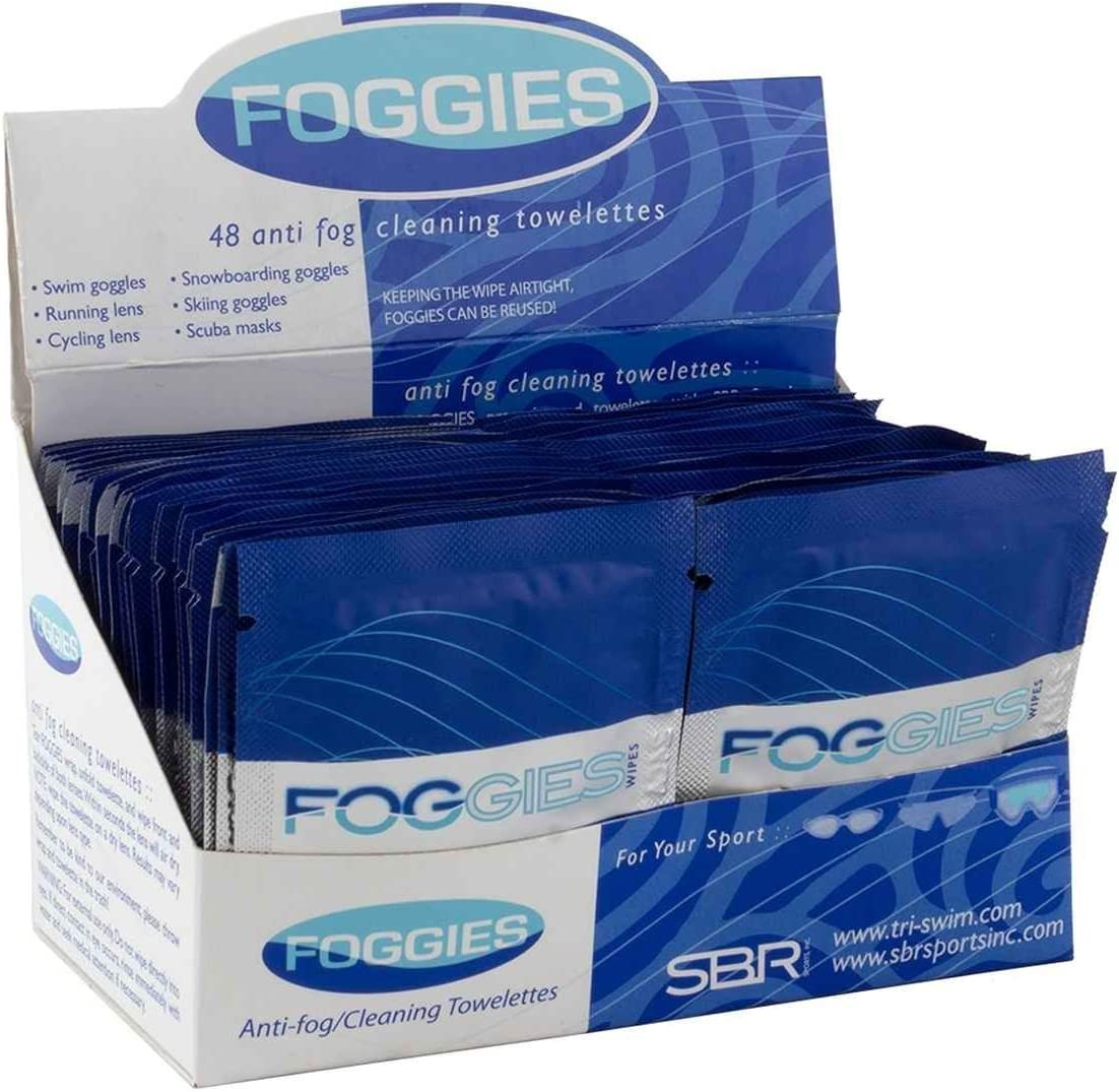 Foggies Anti-Fog OFFicial Cheap super special price Cleaning Towelette Wipes for a Goggles Glasses
