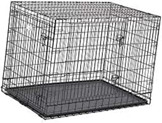 Big and Adult Dog Heavy Duty Dog Crate Strong Metal Large Dog Cage 42 Inch 252