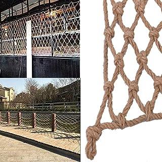 Decor Net Anti-fall Net ,Climbing Net Outdoor Hemp Rope Net Retro Decoration Garden Natural Jute, Multiple Sizes (Color : ...