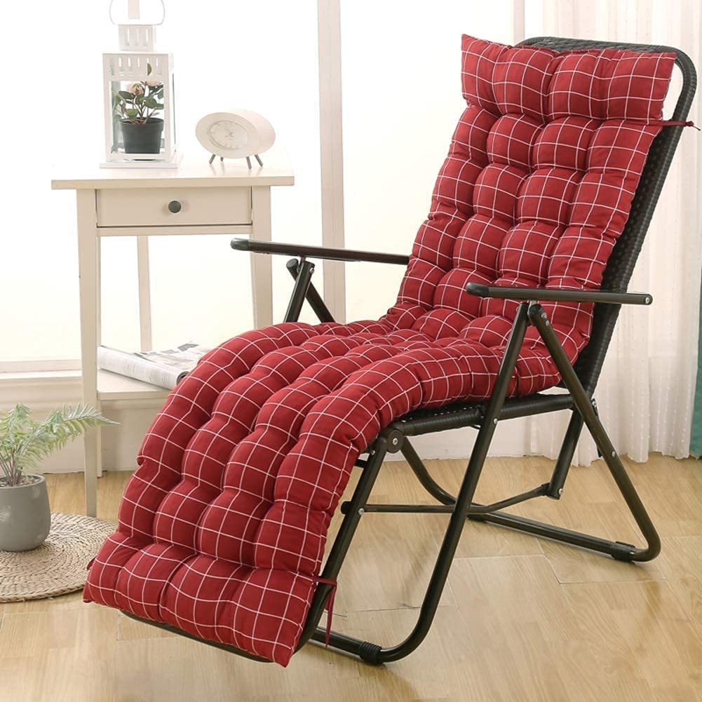 QDCZDQ Indoor Outdoor Lounger Tampa Mall Reservation Cushion Garden Cushi Rocking Chair