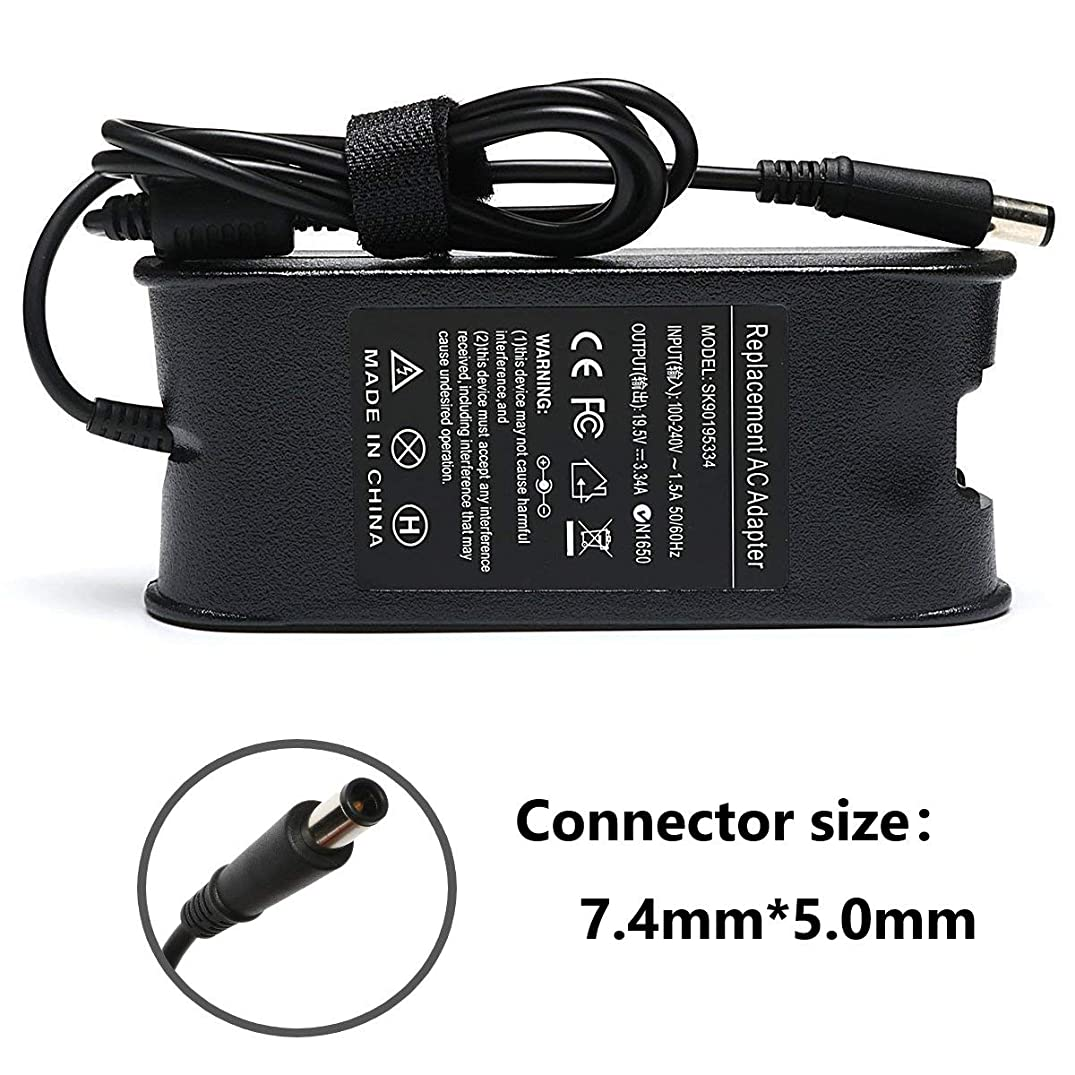 65W AC Adapter Laptop Charger for Dell inspiron N4010 N4110 N5010 N5110 N7010 N7110 14 3421 5421 14R 5421 5437 15 3521 3531 3537 15R 5521 5537 17 3721 5748 17R 5721 5737 Power Supply Cord