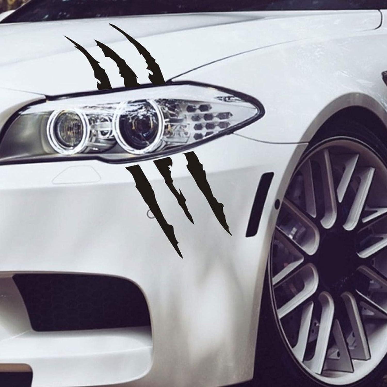 Pegatinas para coche dise/ño de monstruos con garra de ara/ñazos para el cuerpo del coche para ventanilla o faros delanteros