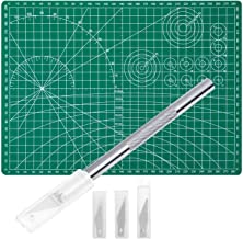 Anezus Craft Knife Precision Cutter and Self Healing Cutting Mat Hobby Knife Set with 30..