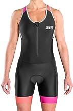 SLS3 Women`s Triathlon Suit FRT | Womens Trisuit | Back Pocket Triathlon Suits Women | Anti-Friction Seams Tri Suit for Women | Slim Athletic Fit