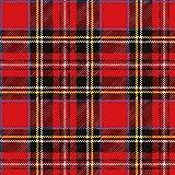 Ambiente, tovaglioli di carta a 3veli, Tartan scozzese rosso