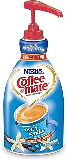 Nestle Coffee-mate Liquid Creamer Pump, French Vanilla (1.5 L) (pack of 6)
