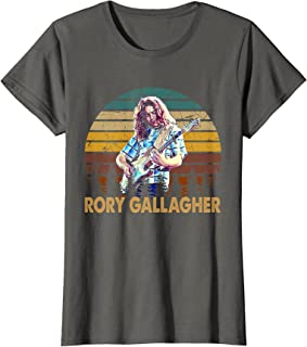 maichengxuan Vintage Rory Idol Gallagher Legends gitaar muziek voor fans T-Shirt