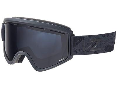 VonZipper Cleaver (Blackout Satin/Wildlife Blackout) Goggles