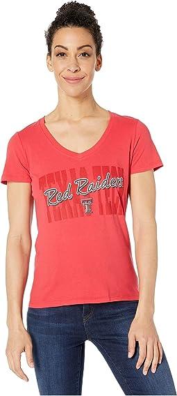 Texas Tech Red Raiders University V-Neck Tee