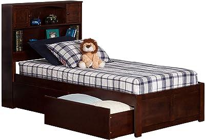 Amazon Com Zinus Wen 12 Inch Deluxe Wood Platform Bed