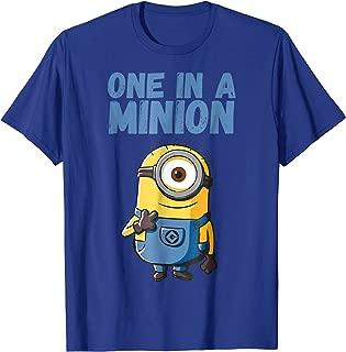 Minions Stuart One In A Minion Graphic T-Shirt