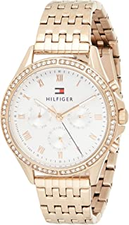 Tommy Hilfiger Womens Quartz Wrist Watch, Chronograph and Stainless Steel- 1782143