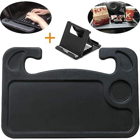 DBzon Trading car 1pcs Eating//Laptop Steering Wheel Desk Black Pack of 1