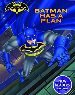 Batman Has A Plan (Turtleback School & Library Binding Edition) (Ready-to-read, Ready-to-go: Batman)