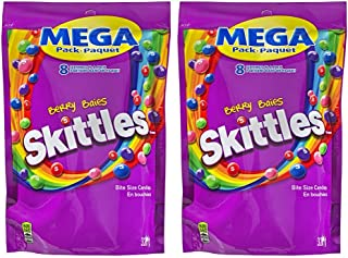 Skittles Berry, Mega-Pack, 320gm, Purple (2 Pack) - Imported from Canada