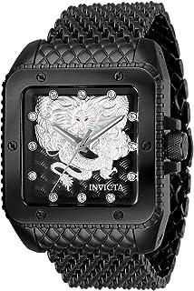 Invicta - Invicta Cuadro Reloj de Hombre automático Correa de Malla Caja de Acero 28512