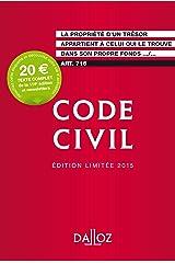 Code civil 2015 Édition limitée - 114e éd. Broché