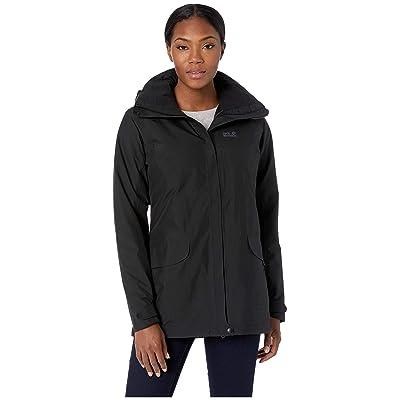 Jack Wolfskin Kiruna Trail Insulated Jacket (Black) Women