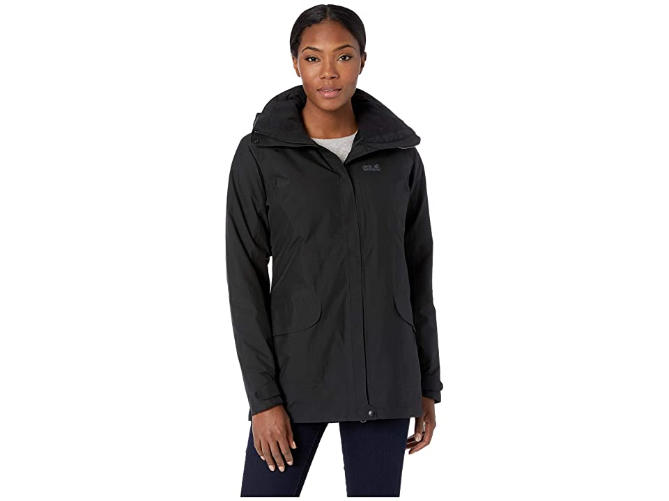 Jack Wolfskin Kiruna Trail Insulated Jacket (Black) Women