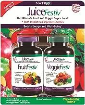 NATROL JUICEFESTIV FRUITFESTIV VEGGIEFESTIV 2 PK 240 Juice FESTIV Fruit Veggie