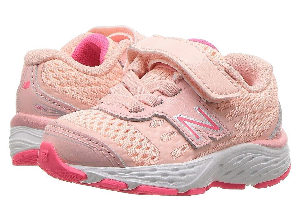 New Balance Kids KA680v5I (Infant/Toddler) (Himalayan Pink/Pink Zing) Girls Shoes