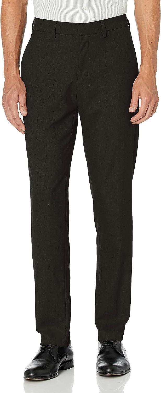 J.M. Haggar Men's Premium Stria Slim Fit Suit Separate Pant