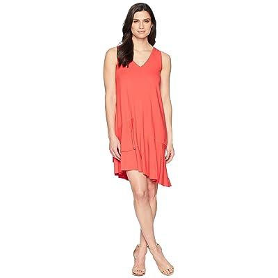 Lilla P Peplum Dress (Zinnia) Women