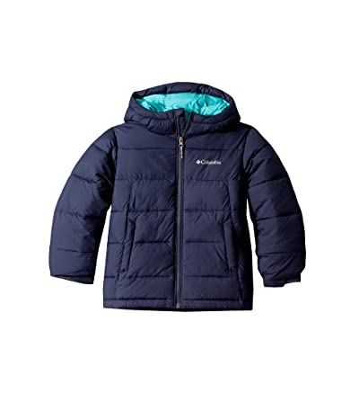 Columbia Kids Pike Laketm Jacket (Little Kids/Big Kids) (Nocturnal/Geyser) Girl