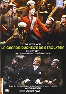 Jacques Offenbach - La Grande-Duchesse De Gerolstein [Marc Minkowski] (2 Dvd) [Edizione: Regno Unito] [Edizione: Regno Unito]