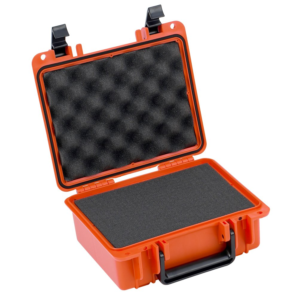 Seahorse Protective Case Foam Orange