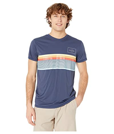 Rip Curl Rapture Surflite UV Tee (Navy) Men