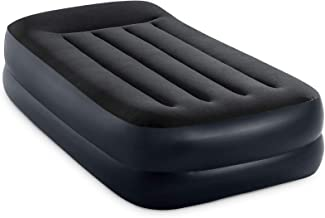 Intex Dura-Beam Series Pillow Rest Raised Airbed with Internal Pump (2021 Model)