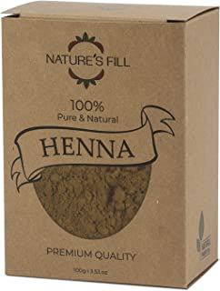 Pure and Natural Henna Powder (3.53 oz) I All Natural I High Pigment Content