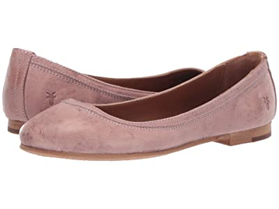 Frye Carson Ballet (Lilac Antique Soft Vintage) Women