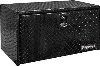 Buyers Products 1725150 Black 14 x 12 x 24 Powder Coated Aluminum Underbody Truck Box