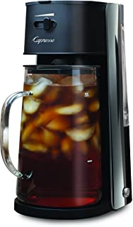 Capresso Iced Tea maker with 80oz Glass Carafe and Removable Water Tank