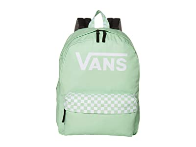 Vans Color Theory Realm Backpack (Green/Ash) Backpack Bags