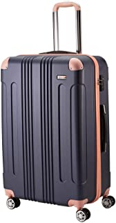 [ムーク] スーツケース キャリーバッグ キャリーケース 機内持ち込み 大型 1年保証 ダブルキャスター