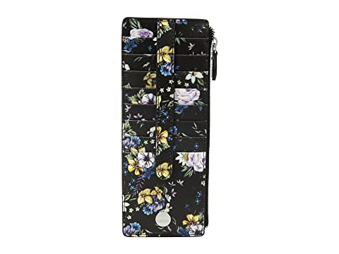Lodis Accessories Posy Credit Card Case With Zipper Pocket At
